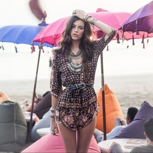 Spell & the Gypsy Collective Desert Rose Playsuit